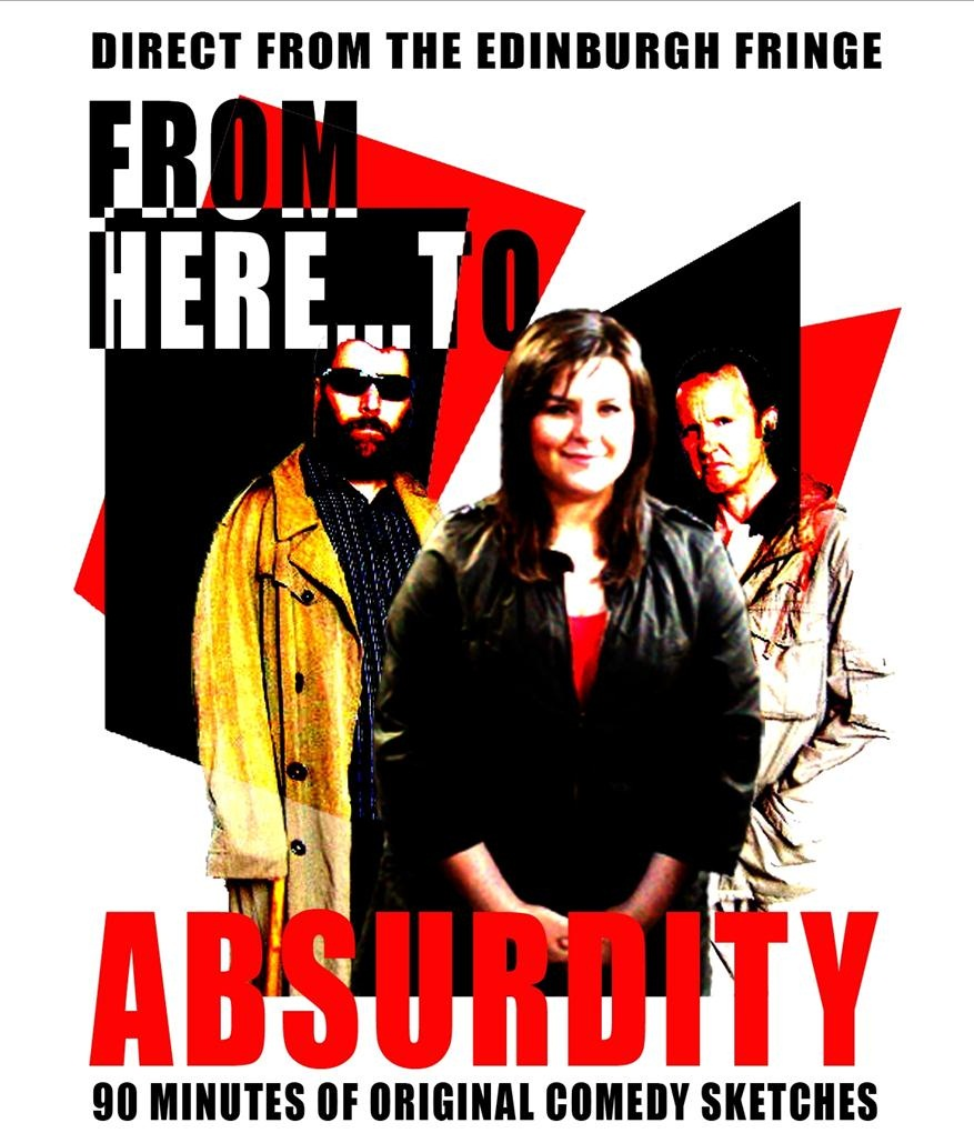 From Here To Absurdity - Richard Kelly, Caroline Major and Ashley Hern